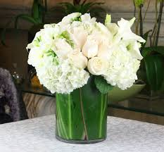 white hydrangeas white roses and hydrangeas in marina ca heathers flowers