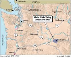Oregon Winery Map by Walla Walla U0027s Big Bang A Remote Wine Region In Both Washington