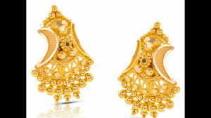 design of earrings gold new gold earrings designs 2017