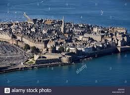Saint Malo France Map by Saint Malo Aerial View Stock Photos U0026 Saint Malo Aerial View Stock