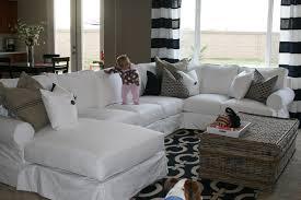 slipcover for sectional sofa white slipcover sectional sofa