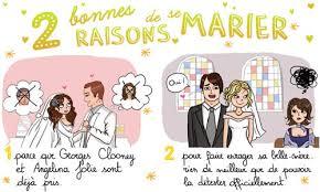 mariage humoristique carte 2 raisons de se marier cybercartes