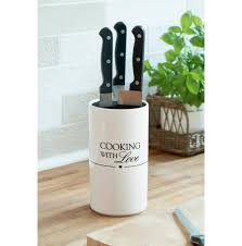 cooking with love knife holder various kitchen and eating