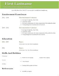 Free Resume Template Open Office by Resume Templates Open Office Writer Actor Resume Template Open