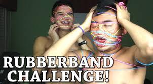 Challenge Wassabi Productions Rubber Band Challenge