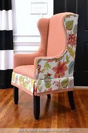 Upholstered Wingback Chair Diy Upholstered Wingback Dining Chair U2013 Finished How To