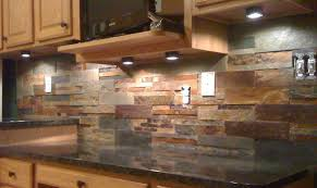 stacked slate interacting with blonde wood detail decor ideas