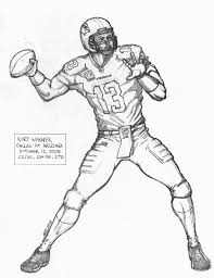 inspirational football player coloring pages 47 for coloring books