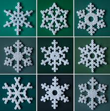 Christmas Decorations To Make At Home by Snowflake Christmas Decorations Room To Bloom