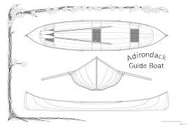 Wooden Boat Designs Free by Adirondack Guide Boat Plans Guillemot Kayaks Small Wooden Boat
