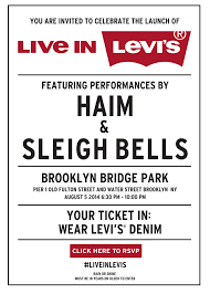 you are invited to celebrate live in levi u0027s nyc get social