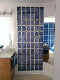 Glass Block Designs For Bathrooms by Colored Glass Block Shower In Middleton Wisconsin With A Caribbean