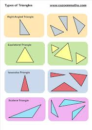 8 best triangles images on pinterest geometry worksheets maths