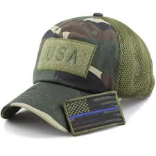 1100 The Flag Low Profile Tactical Operator With Usa Flag Patch Buckle Cotton