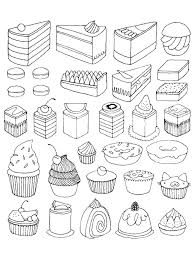 dessert coloring pages to print bltidm