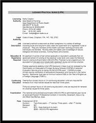 Nursing Resume New Grad Lvn Sample Resume Resume Cv Cover Letter