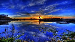 vibrant wallpaper admiring color sunset sharp blissful reflective water clear