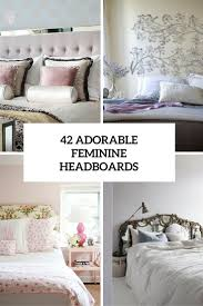 how to make a mirror headboard 42 cute feminine headboards that create an ambience in a bedroom