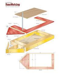 build a sailboat sandbox u2013 canadian home workshop