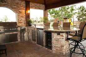 outdoor kitchen faucets outdoor refrigerator enclosure 1 kitchen sink beacon