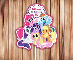 my pony centerpieces my pony centerpieces my pony centerpiece printable
