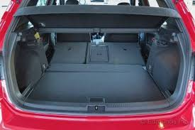trunk space toyota corolla useful cargo space 2015 volkswagen golf gti term road test