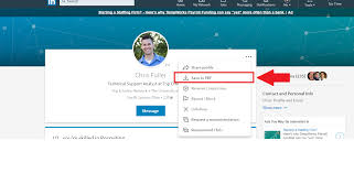 Extract Resume From Linkedin Exporting Linkedin Profile To Pdf