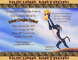 lion king baby shower invitation dolanpedia invitations ideas