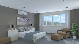 wall mounted air conditioner bedroom 3d animation youtube