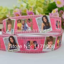 grosgrain ribbon wholesale duwes 7 8 22mm high school musical hsm printed grosgrain ribbon