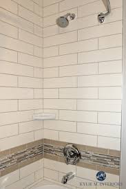 bathroom with subway tile ideas to update a bathroom with almond bone coloured tub shower