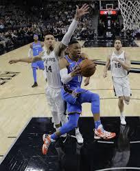 Oklahoma travel guard images Spurs win thriller over oklahoma city thunder san antonio jpg