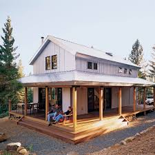 David Wright Architect by Off The Grid Cabin Sunset