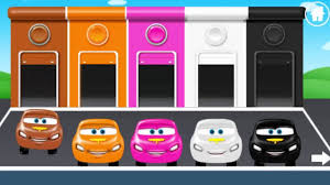 kids game colors game for children kids learn color with car