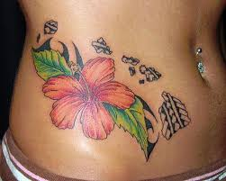 best 25 hawaiian island tattoo ideas on pinterest floral arm