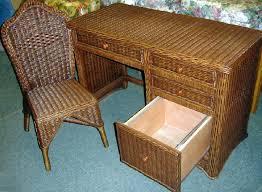 White Wicker Desk by Florentine Wicker Desk And Chair 1095 Dk Dc Jaetees Wicker
