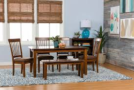berringer rectangle dining table living spaces