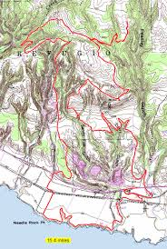 First Landing State Park Map by Wilder Ranch Enchanted Loop Via Horseman U0027s Trail Bay Area