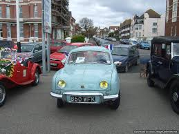 renault dauphine convertible may car 2015 bexhill 100 motoring club