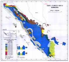 Double Map Agro Climatic Map Of Sumatra