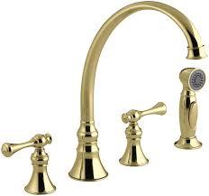 gooseneck kitchen faucets faucet com k 16109 4a bv in brushed bronze by kohler