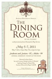 The Dining Room Ar Gurney Emily Gerbig Poster Designer