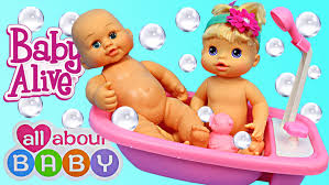 baby alive bath time toy bathtub all about baby play set by