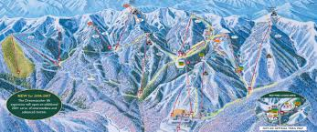 Park City Utah Map Canyons Ski Resort Map