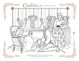 disney u0027s cinderella coloring pages activity sheets