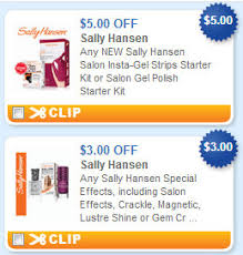 over 10 in sally hansen nail polish u0026 strips coupons walmart