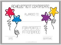 10 attendance images award certificates