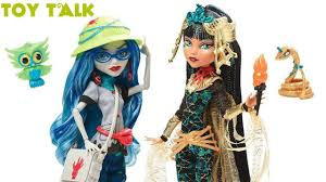 mattel shop monster high ghoulia yelps u0026 cleo de nile dolls toy
