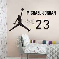 star home decor aliexpress com famous rock star elvis presley nba star home decoration vinyl basketball player michael jordan wall sticker removable house decor sports room