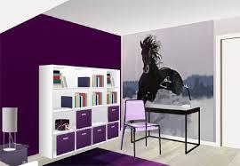 Chambre Ado Fille Noir Et D Design Peinture Sur Le Mur